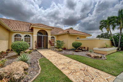 Palm Beach County Single Family Home For Sale: 15630 Chandelle Place
