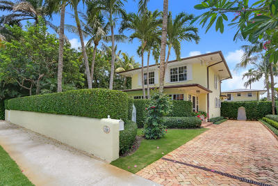 Palm Beach FL Single Family Home For Sale: $4,599,000