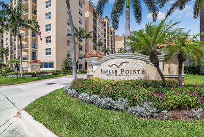 West Palm Beach Condo For Sale: 1801 Flagler Drive #129