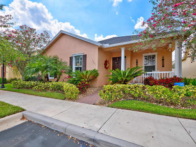 Port Saint Lucie Single Family Home For Sale: 10501 SW Kelsey Way