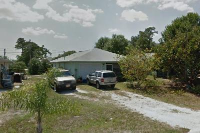 Vero Beach Single Family Home For Sale: 1155 18th Avenue SW