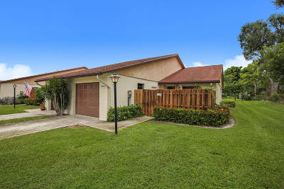 Boynton Beach Single Family Home For Sale: 3759 Lace Vine Lane