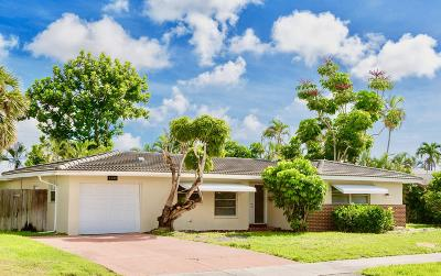 Boca Raton Single Family Home For Sale: 1399 W Camino Real