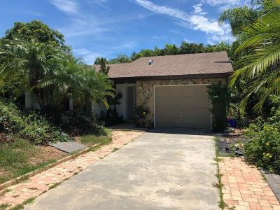 Vero Beach Single Family Home For Sale: 170 10th Court