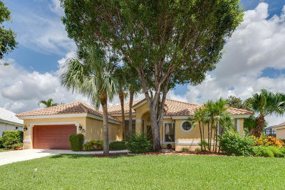 Boca Raton Single Family Home For Sale: 22295 Holcomb Place