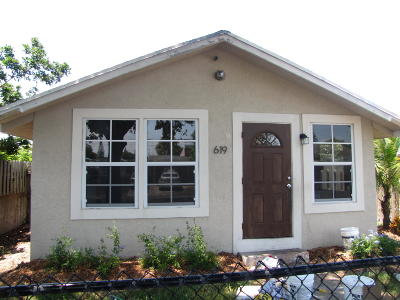 West Palm Beach Single Family Home Contingent: 619 58th Street