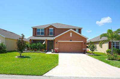 Vero Beach Single Family Home For Sale: 1558 Lexington Square SW