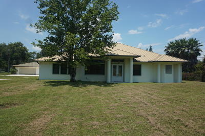 Fort Pierce Single Family Home For Sale: 4641 Jorgensen Road