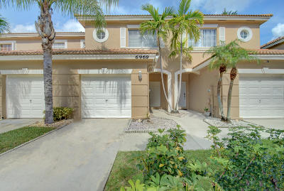 Lake Worth Townhouse For Sale: 6969 Brook Hollow Road