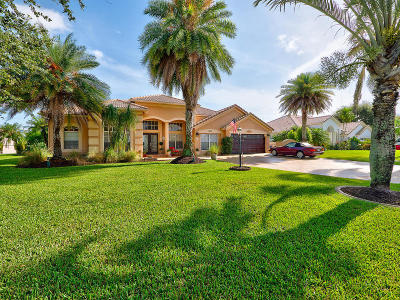 Lake Worth Single Family Home For Sale: 4405 Hunting Trail