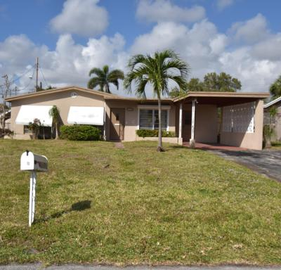 Fort Lauderdale Single Family Home For Sale: 1631 NW 26th Terrace