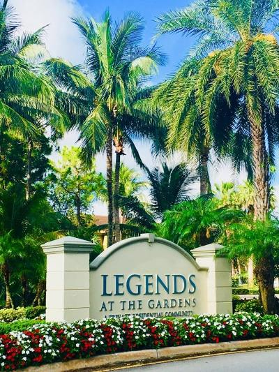 Palm Beach Gardens FL Townhouse For Sale: $325,000