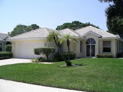Hobe Sound Single Family Home For Sale: 5117 SE Inkwood Way