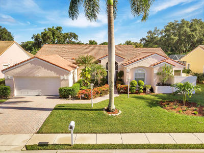 Palm Beach Gardens Single Family Home For Sale: 10278 Allamanda Boulevard