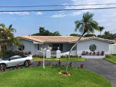 Pompano Beach Single Family Home For Sale: 280 SW 18th Court