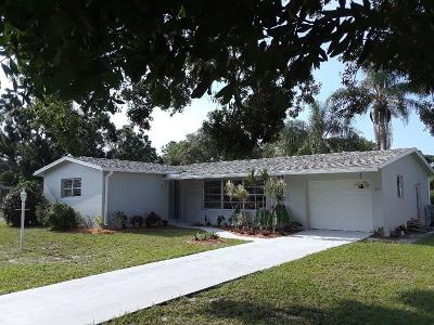 Indian River County Single Family Home For Sale: 1965 1st Place SW