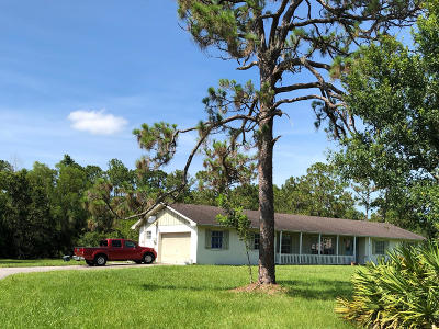 Jupiter Single Family Home For Sale: 10907 S Dogwood Trail