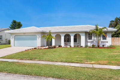 Boca Raton Single Family Home For Sale: 3510 NW 26th Avenue