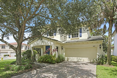 Palm Beach Gardens Single Family Home For Sale: 470 Pumpkin Drive