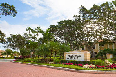 Palm Beach Gardens Townhouse For Sale: 359 Prestwick Circle #3