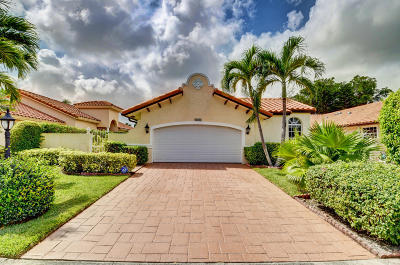 Delray Beach Single Family Home For Sale: 5190 Casa Real Drive