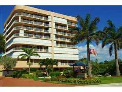 Highland Beach Condo For Sale: 3210 S Ocean Boulevard #405