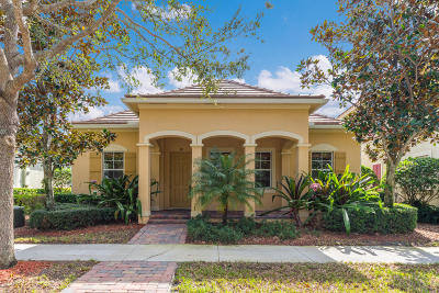 Jupiter FL Single Family Home Contingent: $525,000