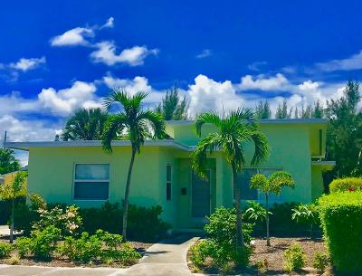 Lake Worth Single Family Home For Sale: 809 O Street