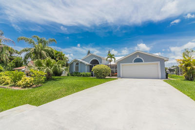Port Saint Lucie Single Family Home For Sale: 162 SW Evans Avenue