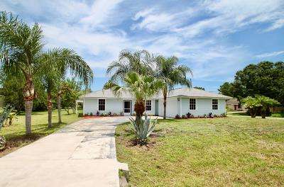 Indian River County Single Family Home For Sale: 8446 Floraland Avenue