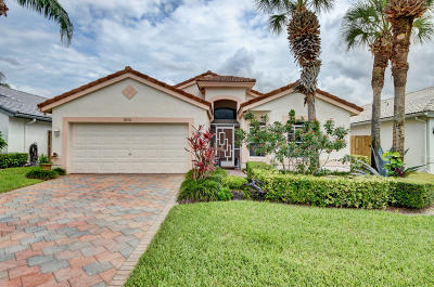 Boca Raton Single Family Home For Sale: 8856 Thames River Drive