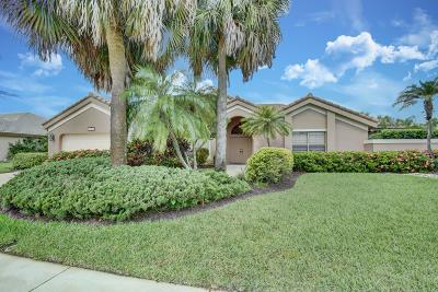 Boca Raton Single Family Home For Sale: 11403 Boca Woods Lane