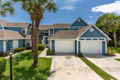Jupiter Townhouse For Sale: 1112 Ocean Dunes Circle