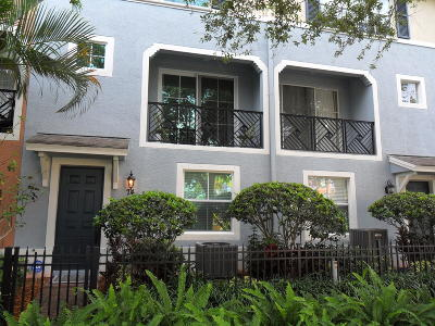 Delray Beach Townhouse For Sale: 74 NW 3rd Avenue