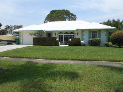 Port Saint Lucie Single Family Home For Sale: 1753 SE Adair Road