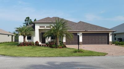 Port Saint Lucie Single Family Home For Sale: 251 SW Vista Lake Drive