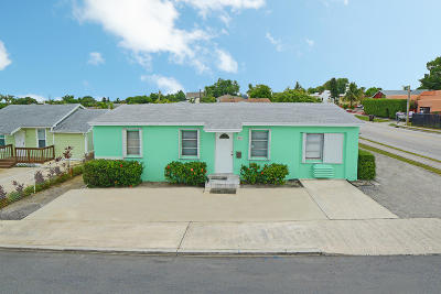 West Palm Beach Multi Family Home For Sale: 860 Green Street