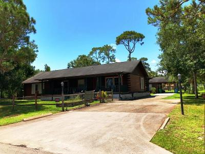 Fort Pierce Single Family Home For Sale: 8505 North Boulevard
