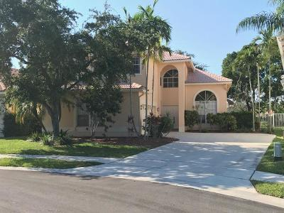 Boca Raton Single Family Home For Sale: 10968 Danbury Way