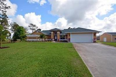 Indian River County Single Family Home For Sale: 940 82nd Avenue