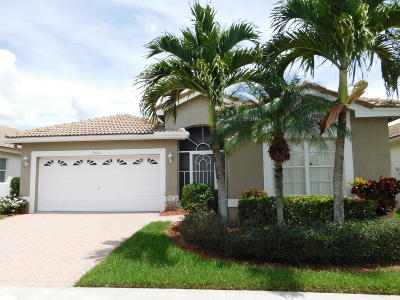 Boynton Beach Single Family Home For Sale: 9526 Cherry Blossom Court