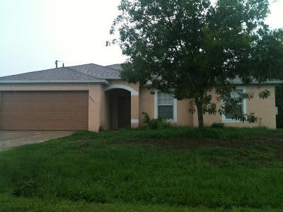 Port Saint Lucie Single Family Home For Sale: 3868 SW Jacobs Street