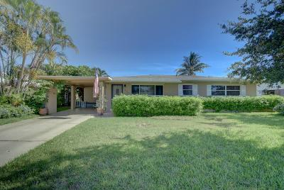 Boca Raton Single Family Home For Sale: 275 NE 28th Terrace