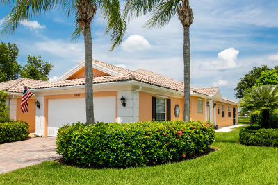Port Saint Lucie Single Family Home For Sale: 10882 SW Elsinore Drive