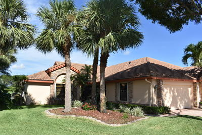 Boynton Beach Single Family Home Contingent: 7491 Hearth Stone Avenue