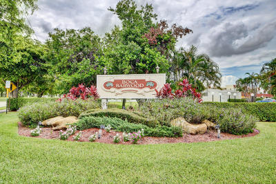 Boca Raton Condo For Sale: 23277 Barwood Lane #407