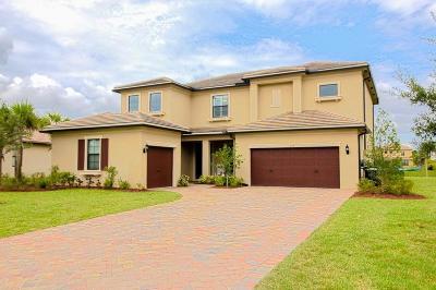 Palm City Single Family Home For Sale: 1074 SW Cherry Blossom Lane