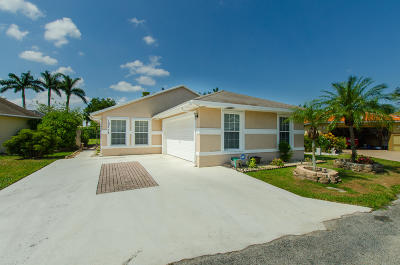 Boynton Beach Single Family Home For Sale: 10214 Boynton Place