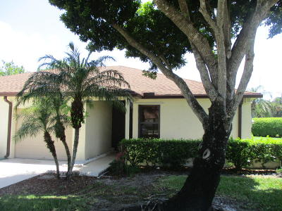 Boca Raton Single Family Home For Sale: 20982 Concord Green E