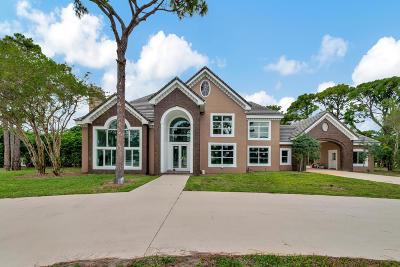 Palm Beach Gardens Single Family Home For Sale: 7693 Steeplechase Drive
